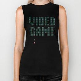 VIDEO GAME Retro Arcade Inspired Console Gamer Biker Tank