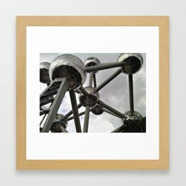 Atomium Framed Art Print
