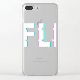 Geek Clear iPhone Case