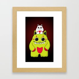 Bad & Mad Framed Art Print