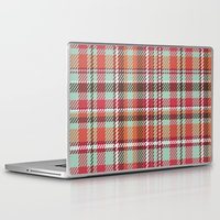 plaid Laptop & iPad Skins featuring Plaid by Xiao Twins