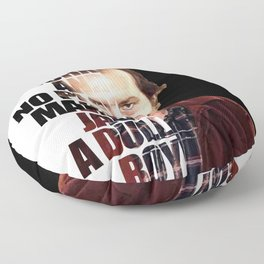 All work and no play makes Jack a dull boy Floor Pillow