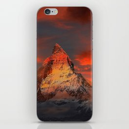 Mountain Matterhorn Switzerland iPhone Skin