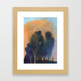 Forest of Endless Sleep Framed Art Print