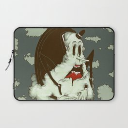 Creep Cloud Face Melt Laptop Sleeve