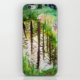 Into water / Vette iPhone Skin