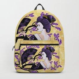 Black & Purple Backpack
