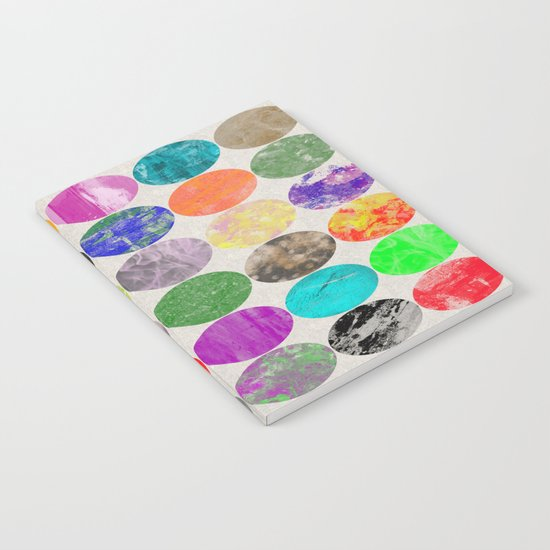 36 Textures - Multi Coloured, Multi Patterned, Multi textured Canvas Painting Notebook