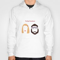 royal tenenbaums Hoodies featuring The Royal Tenenbaums, Margot, & Richie by bonieiji