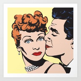 Lucy and Desi Art Print