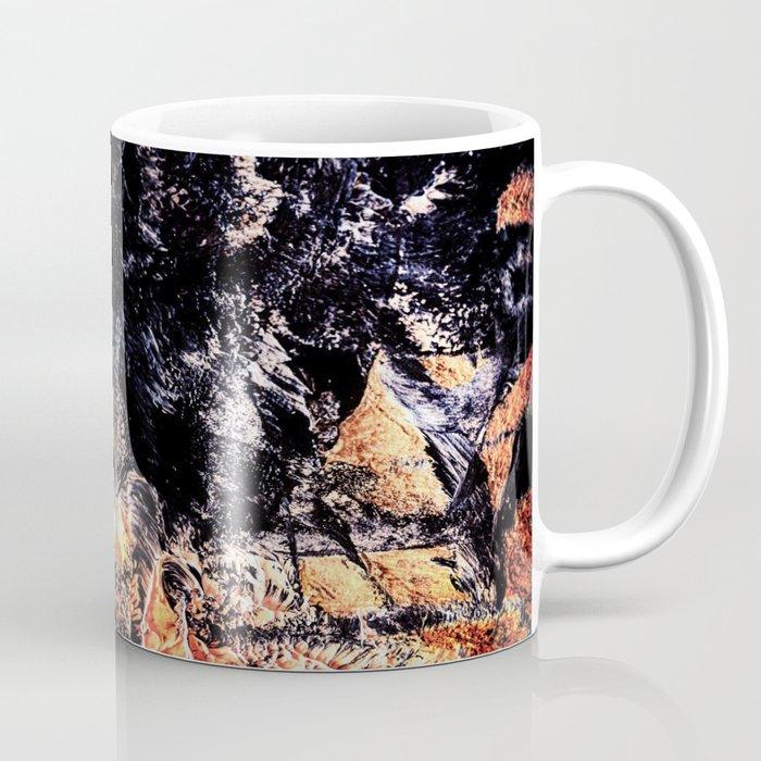 Flame kaleidoscope Coffee Mug
