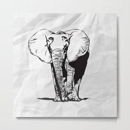 Mr. Elephanto Metal Print