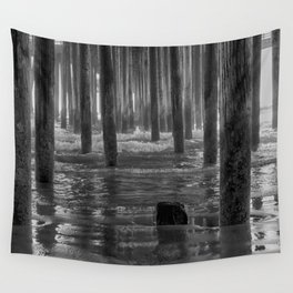 Pismo Beach Pier Wall Tapestry