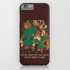 oo-de-lally (brown version) Slim Case iPhone 6s