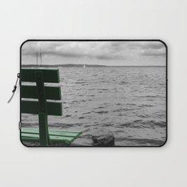 Gloomy Lake Days Laptop Sleeve