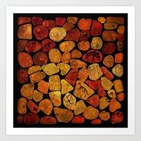 Secret of Amber  Art Print