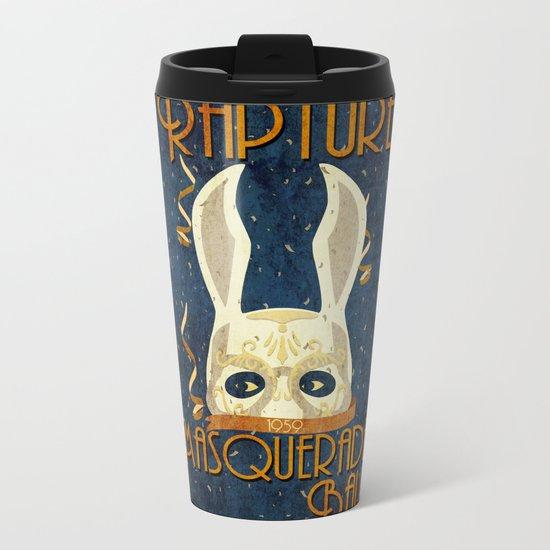 Rapture Masquerade Ball 1959 Metal Travel Mug