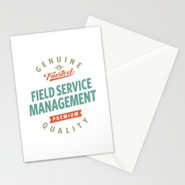 Field Service Management Stationery Cards