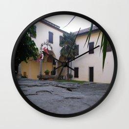 A Secret Garden Wall Clock