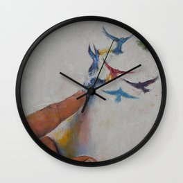 Creation Wall Clock