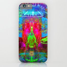 Paleo Scream Invocation iPhone Case