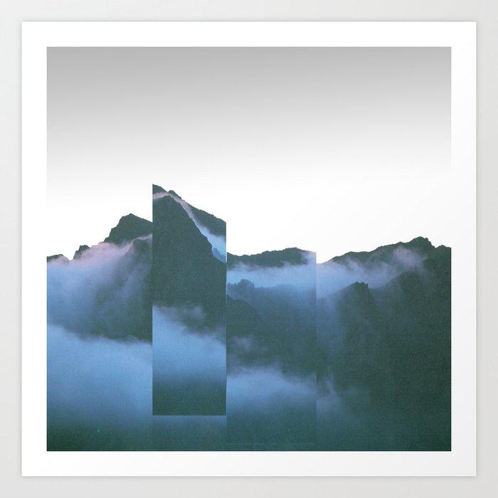 Mountain Mix 17.2 Art Print