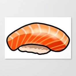 KAWAII SASHIMI Canvas Print