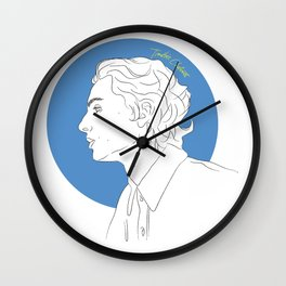 Call Me By Your Name (Timothée Chalamet) Wall Clock