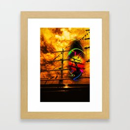 Under sail  Framed Art Print