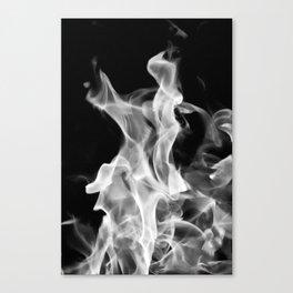 Smoke or Fire Canvas Print