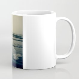 Silver Waves in Morro Bay, California Coffee Mug