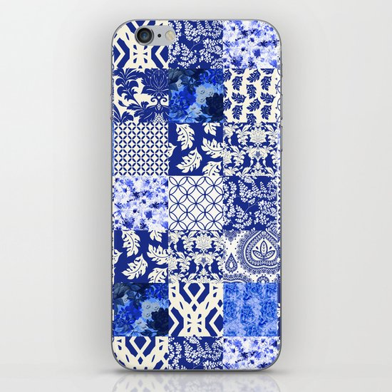 Blue Is Just A Mood iPhone & iPod Skin