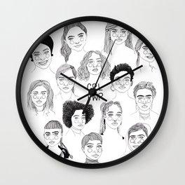 GRL PWR 2 Wall Clock