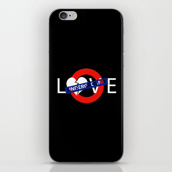 UNDERGROUND LOVE iPhone & iPod Skin
