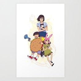 Bob's Burgers Art Print