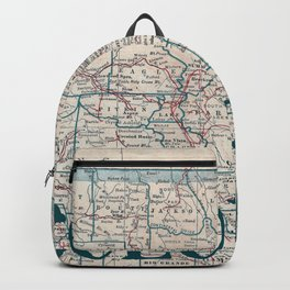 Colorado Map Backpack