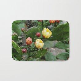 Cactus with flower Bath Mat