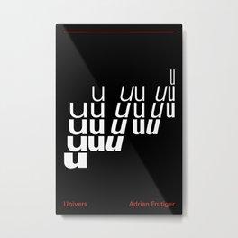 UNIVERS Metal Print