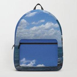 blue skies bright Backpack