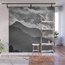 Lauterbrunnen Valley. Jungfrau Mountauin. 4.158 Meters. Swithzerland Alps Wall Mural