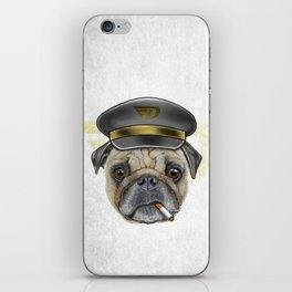 Pug Commander  iPhone Skin