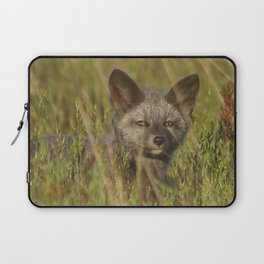 Silver Foxlet Laptop Sleeve