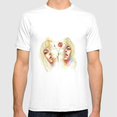 My Reality Mens Fitted Tee White MEDIUM