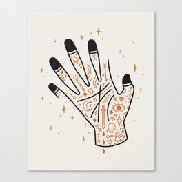 Sleight of Hand Canvas Print