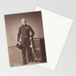 Vintage Photographic Print - M. Loria of the 24th Mounted Chasseur Regiment (1858) Stationery Cards