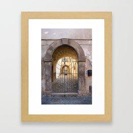 Door number thirty-nine Framed Art Print