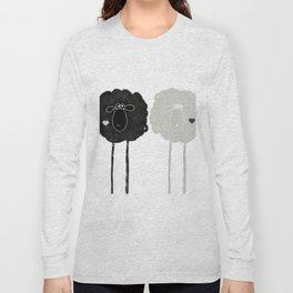 Ying Yang Sheep Long Sleeve T-shirt