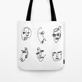 Faces Collection - Family Tote Bag