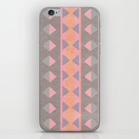 montana iPhone & iPod Skins featuring Montana Weave by The Velvet Owl Design Studio
