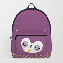 Little sleepy owl Backpack